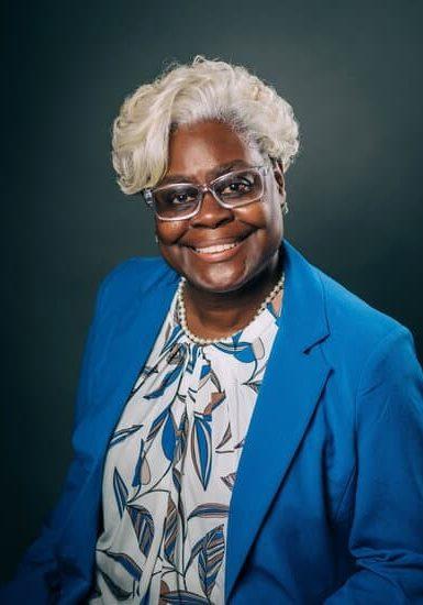 Headshot of Pamela D Jones