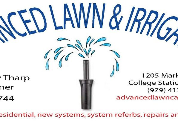Advanced Lawn and Irrigation Logo