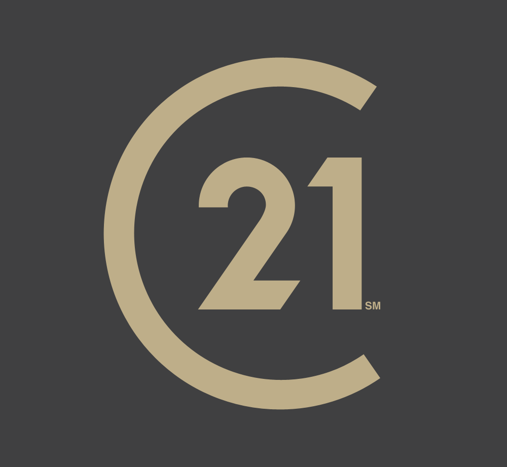 Century 21 gold and black seal