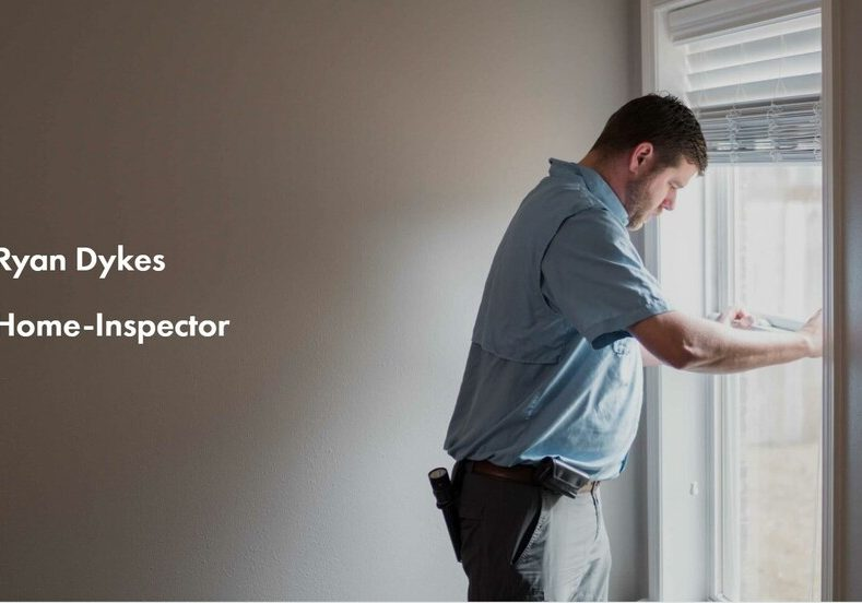 Photo or Ryan Dykes, Home Inspector